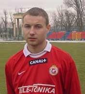 Tomasza Frankowskiego czeka walka o powrót do składu Wisły /INTERIA.PL