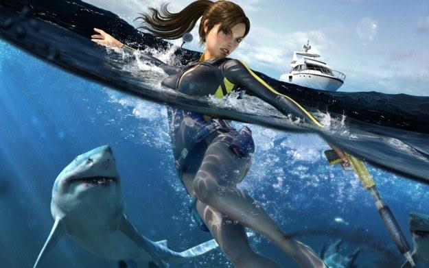 Tomb Raider: Underworld - motyw graficzny /Informacja prasowa