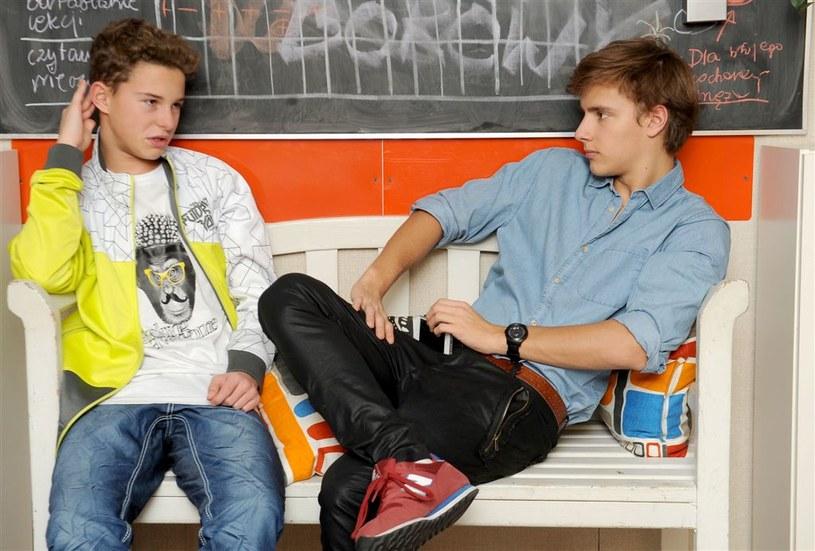 Tomek (Maciej Musiał) i Kuba (Adam Zdrójkowski) /Agencja W. Impact