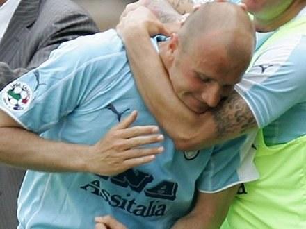 Tommaso Rocchi zapewnił Lazio zwycięstwo nad Sampdorią /AFP