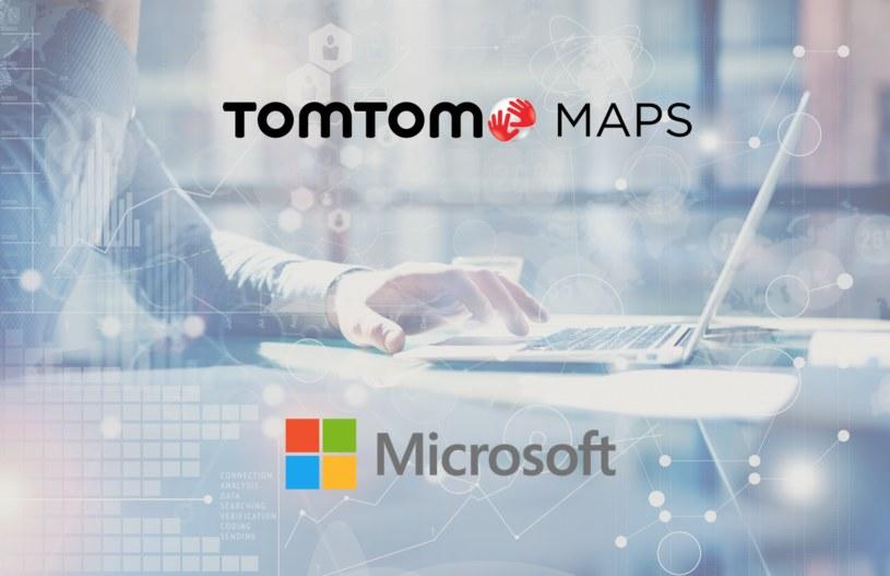 TomTom i Microsoft zaczynają współpracę /materiały prasowe