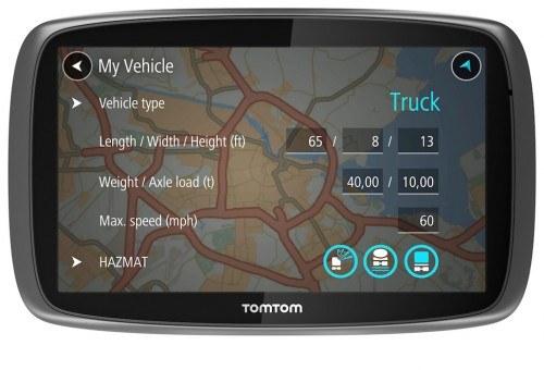 TomTom Trucker 5000 /materiały prasowe