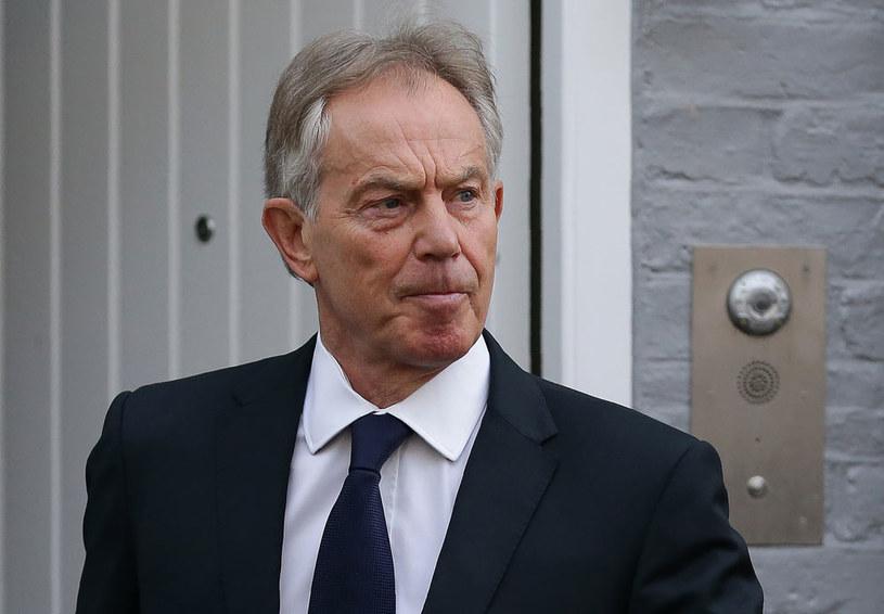 Tony Blair planuje powrót do polityki /AFP