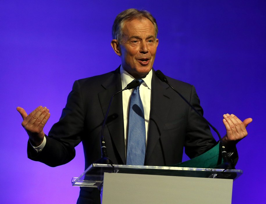 Tony Blair /RUNGROJ YONGRIT /PAP
