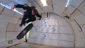 Tony Hawk i brak grawitacji. Deskorolkowy kosmos!
