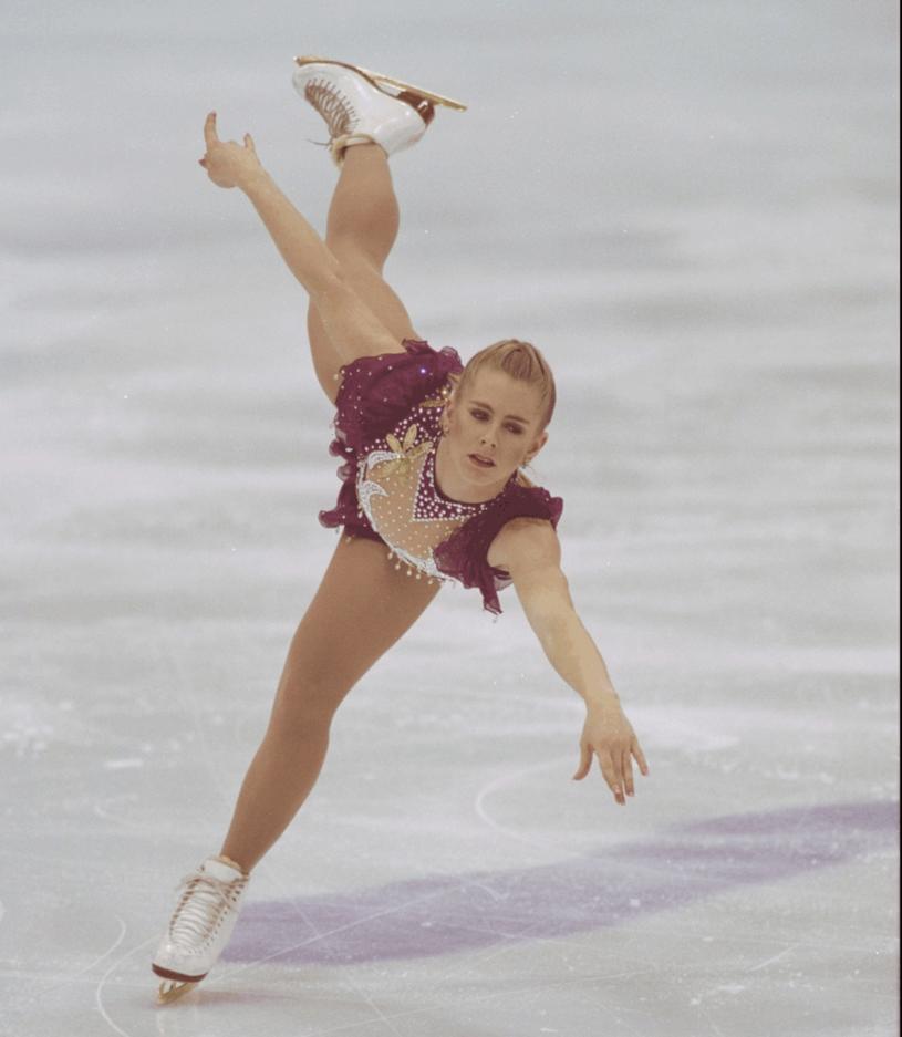 Tonya Harding na Igrzyskach  Olimpijskich  w 1994 w Lillehammer /Getty Images