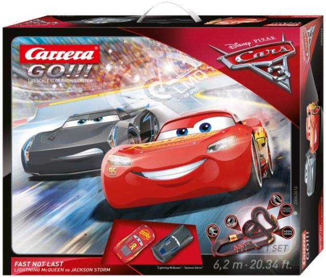 Tor Carrera Go!!! z bohaterami filmu Auta 3 /materiały prasowe