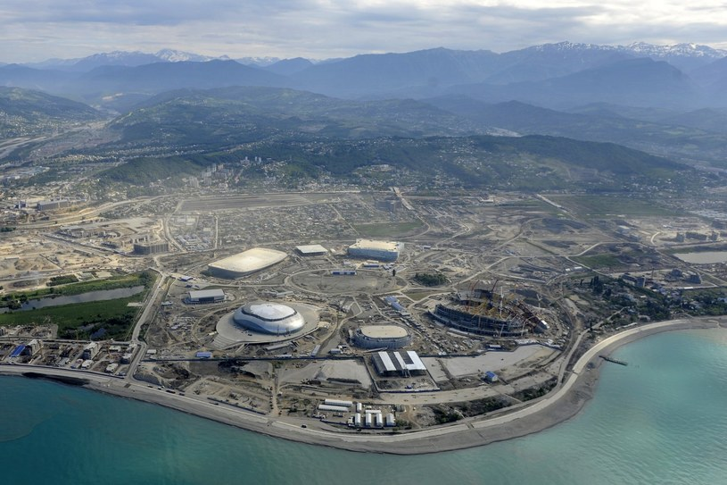 Tor ma przebiegać po terenie Parku Olimpijskiego w Soczi /AFP