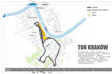 Tor uliczny Kraków /