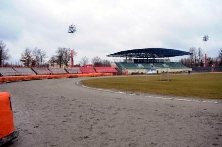 Tor w Bydgoszczy, po zimie nie jest w zbyt dobrym stanie. Fot. Piotr Sumara. /Agencja Przegląd Sportowy