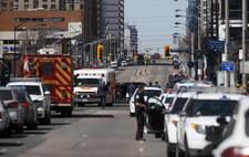 Toronto: Furgonetka wjechała w pieszych