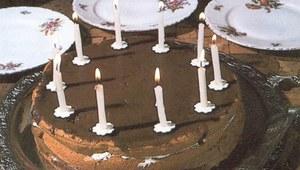 Tort bananowy z czekoladą