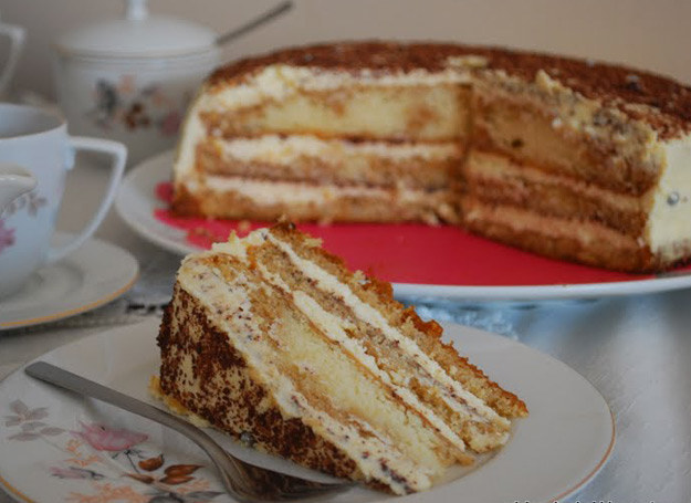 Tort tiramisu /Rodzice w kuchni