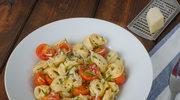 Tortellini z ricottą i pomidorami