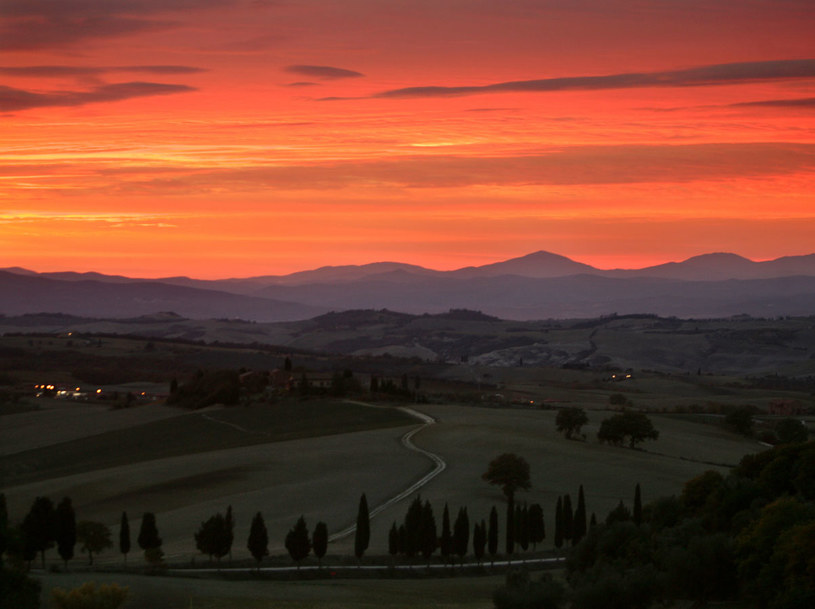 Toskania jest piękna i urokliwa  /AFP
