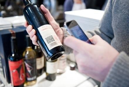 Touchatag w praktyce - szybki dostęp do informacji o winie /materiały prasowe