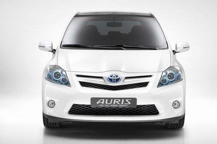 Toyota auris HSD full hybrid concept. /