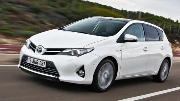 Toyota Auris Hybrid zadebiutowała jesienią ubiegłego roku w Paryżu. /Toyota