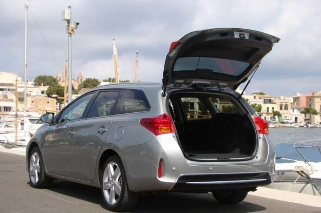Toyota Auris Touring Sports  ma ogromny bagażnik /INTERIA.PL