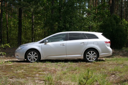 Toyota avensis wagon /INTERIA.PL