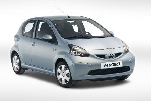Toyota aygo / kliknij /INTERIA.PL