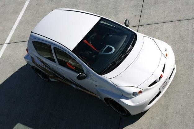 Toyota aygo RWD - fot. Gazoo Racing /