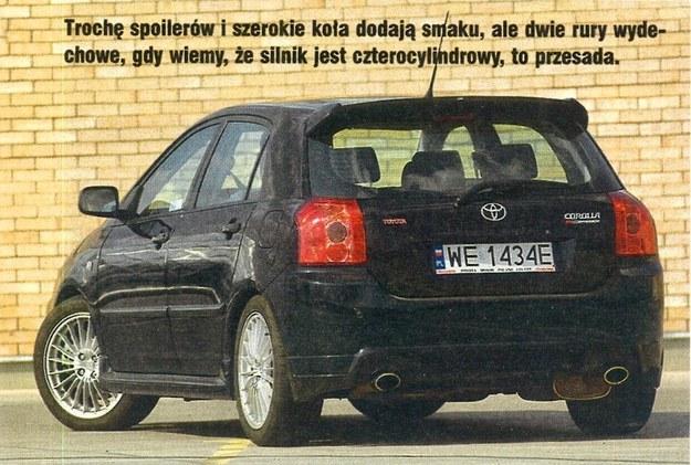 Toyota Corolla TTE /Motor