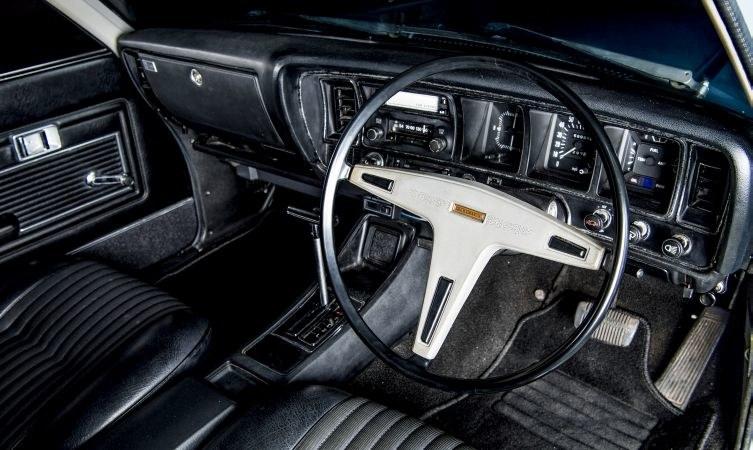 Toyota Crown De Luxe z 1972 roku /