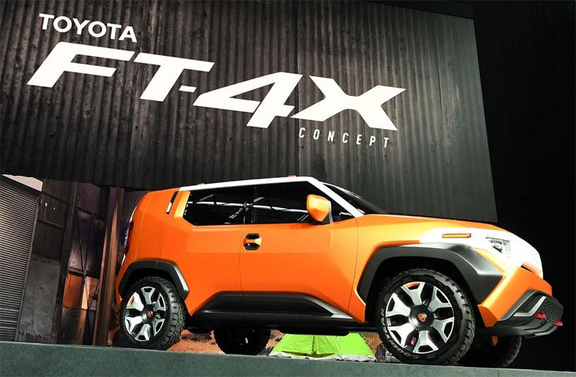 Toyota FT-4X Concept /