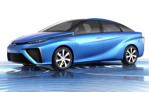 Toyota Fuel Cell Vehicle /materiały prasowe