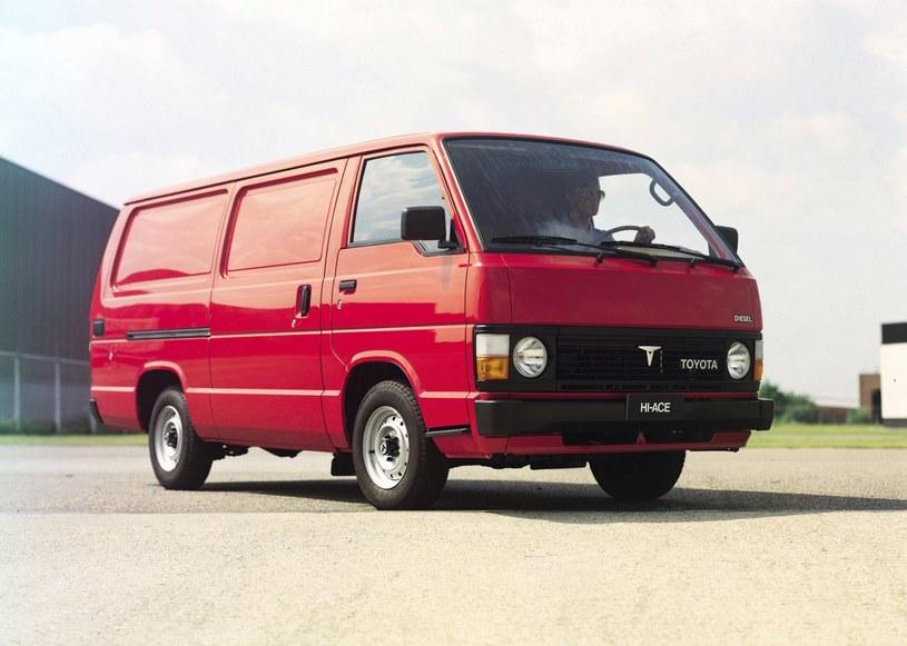 Toyota HiAce trzeciej generacji /