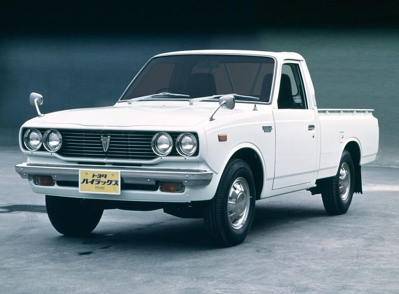 Toyota Hilux drugiej  generacji /