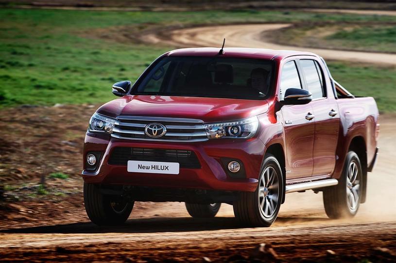 Toyota Hilux ósmej  generacji /