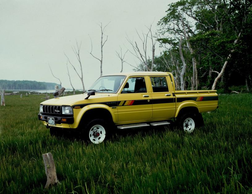 Toyota Hilux trzeciej  generacji /