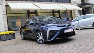 Toyota Mirai - pierwsza jazda