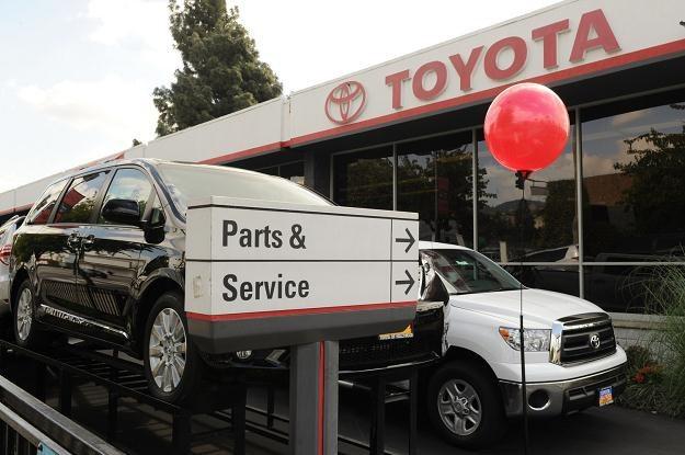 Toyota musi naprawić ponad pół miliona samochodów /AFP