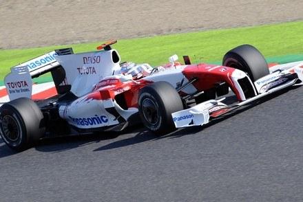 Toyota odchodzi z F1 /AFP