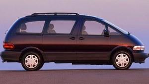 Toyota Previa - silnik jako pasażer