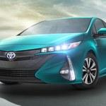 Toyota Prius z bateriami słonecznymi