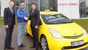 Toyota Prius z przebiegiem 1 mln km