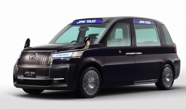 Toyota prowadzi prace nad taksówką nowej generacji /INTERIA.PL/informacje prasowe