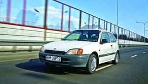 Toyota Starlet - niepozorna gwiazda rankingów awaryjności