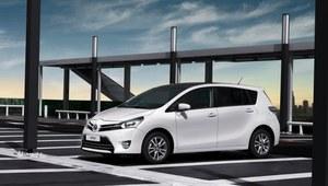 Toyota Verso po faceliftingu