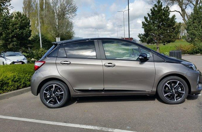 Toyota Yaris 2017 /INTERIA.PL
