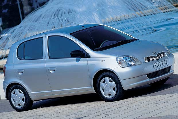 Toyota Yaris (kliknij) /INTERIA.PL