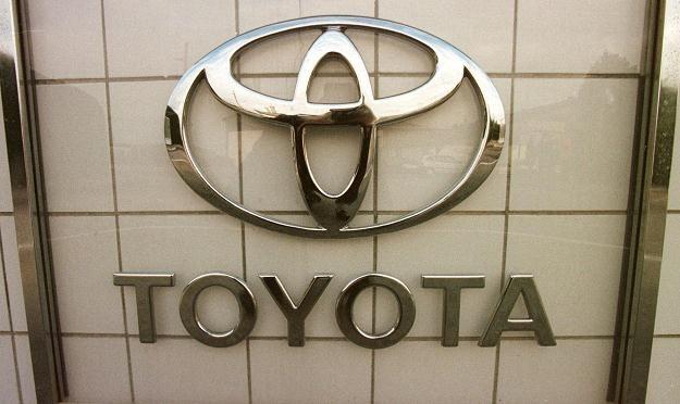 Toyota zapłaci bo... spadł kurs jej akcji /AFP