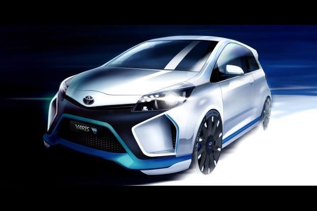 Toyoty Yaris Hybrid R /