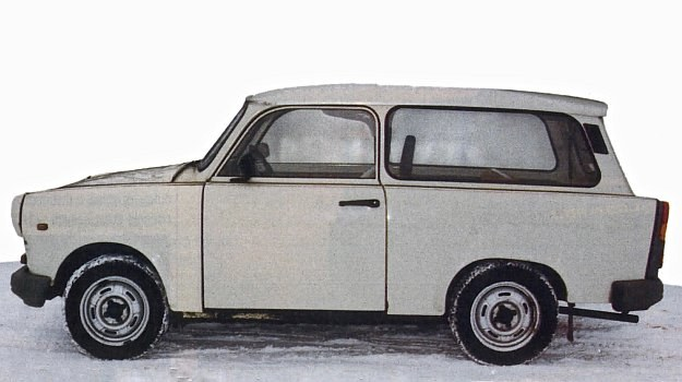 Trabant 1.1 /Motor
