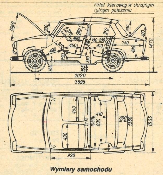 Trabant 601 /Motor