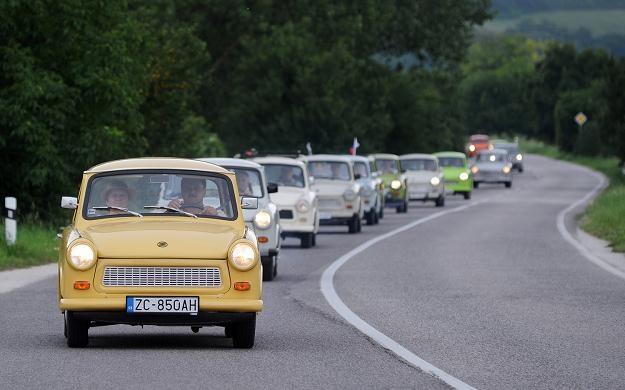 Trabant stał się samochodem kultowym /AFP